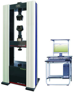 Electronic Universal Testing Machine WDW-300E pictures & photos