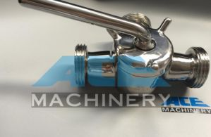 Stainless Steel Sanitary 3 Way Thread Plug Valve (ACE-XSF-A6) pictures & photos