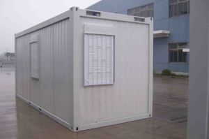 China Labor Worker Used as Mobile Dormitory and Office Container Unit pictures & photos