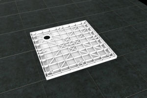 Newest Modern Design Square Shower Room Shower Tray pictures & photos