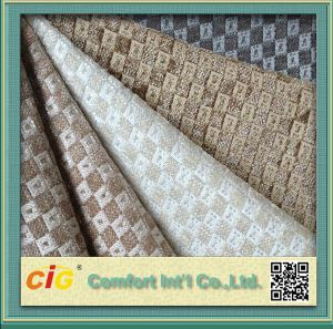 High Quality Sofa Fabric Jacquard Upholstery Fabric pictures & photos