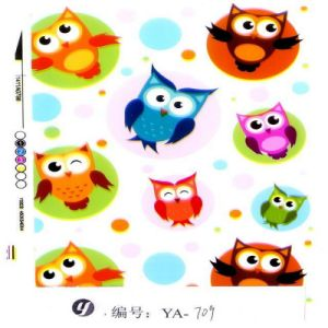 Yingcai Cute Owl Hydrographics Water Transfer Printing Film pictures & photos