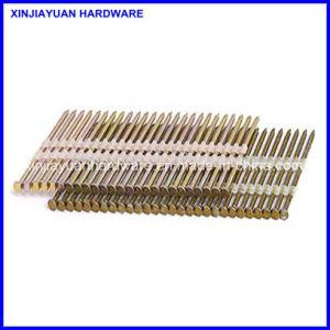 Electro Galvanized Plastic Strip Iron Nail 2.90*75mm pictures & photos