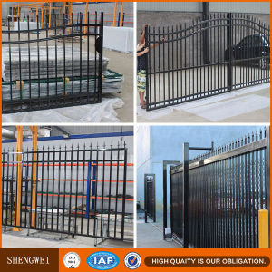 Square Steel Tube Fence and Gate with Spear Top pictures & photos