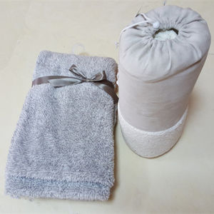 Cationic Coral Fleece Ultra Soft Blankets with Carry Bag pictures & photos