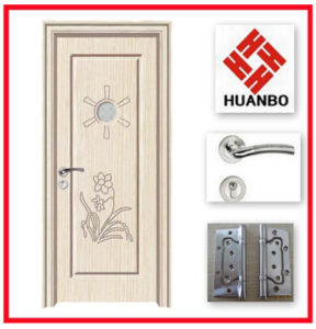 New Design Fashionable PVC Internal Wooden Doors Hb-018