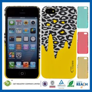 Leopard Pattern Hard Cell Case Cover for iPhone 5 pictures & photos