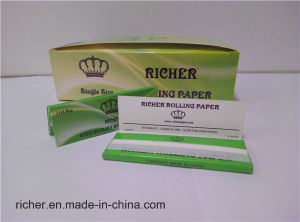 Popular Rice Rolling Paper 18g Slow Burning pictures & photos