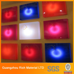 Color Cast Acrylic Sheet for LED Letter Signs/Plexiglass PMMA Sheet pictures & photos