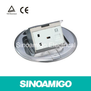 Power Outlet Round Floor Socket pictures & photos