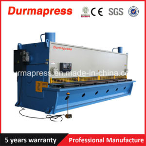 QC11y Big Size Shearing Machining 6m Guillotine Type Shearing Machine for Metal Cutting pictures & photos