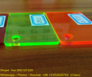SGS Fluorescent Plexiglass Acrylic Sheets pictures & photos