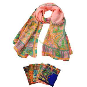 Bohemian National Wind Cashew Design Silk Shawls pictures & photos