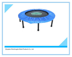 Sld. 48′′-Fyx-T Mini Trampoline Folded with Safety Net pictures & photos