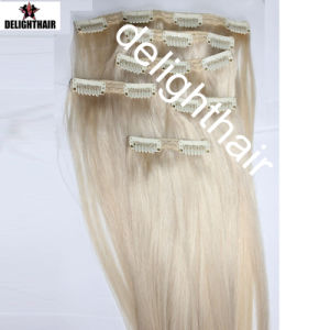 New Style Factory Remy Hair Clip in Hair Extension Nhcl-010