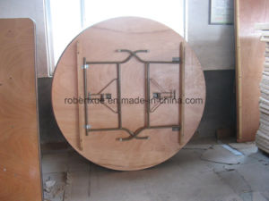 2015 Hot Wedding Event Folding Table Round Table pictures & photos