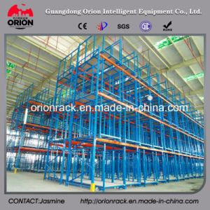 Industrial Light Duty Steel Decking Shelves pictures & photos