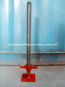 Adjustable Base Screw Jack for Construction pictures & photos