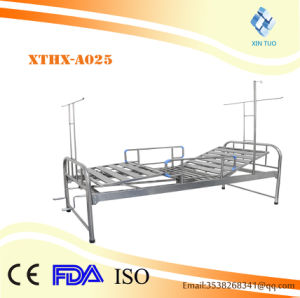 Ce Certification Deluxe Stainless Steel Portable Hospital Bed pictures & photos