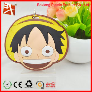 Little Boy Cartoon Soft PVC Luggage Tag