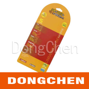Electronic Product Color Insert Plastic Paper Printed Card pictures & photos
