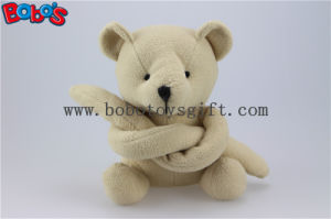 Beige Funny Toy Long Arm Stuffed Teddy Bear Animal Bos1120 pictures & photos
