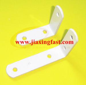 White Plastic Coating Corner Bracket pictures & photos