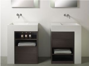 Solid Surface Basin Sinks Bm8009 pictures & photos