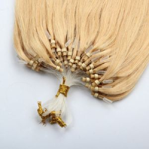 Easy Virgin Micro Loop Ring Human Hair Extension pictures & photos