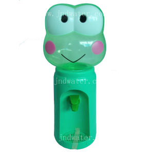 Plastic Cartoon Frog Mini Water Dispenser pictures & photos