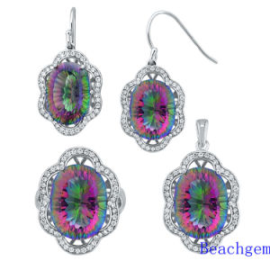 Fashion Mystic Quartz Jewellery Set (S1368)