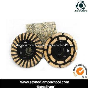 "M14 Circular 7"" Klindex Marble Abrasive Stone Diamond Grinding pictures & photos"