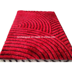 Polyester Modern Shaggy Rugs with 3D Effects pictures & photos