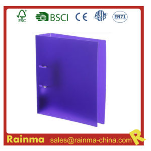 PP Material Purple Color Arch Lever File Folder pictures & photos