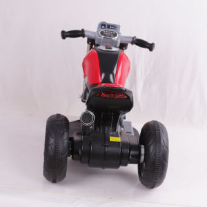 Newest Model Three Wheels Kids Electric Motorcycle Battery Power pictures & photos