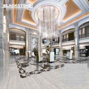 Grey Silk Line Stone with Crystal Polished Tile (JK6083) pictures & photos