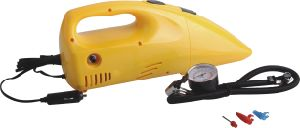 DC12V Portable Car Vacuum Cleaner with Air Compressor pictures & photos