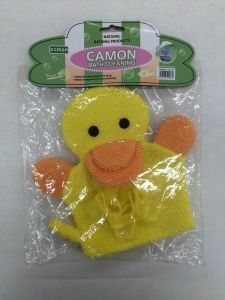 Duck Design Childrens Bath Cleaning Sponge Glove pictures & photos