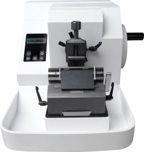 Cost Effective Medical Pathological Semi Automated Microtome pictures & photos
