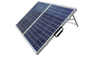 80W Folding Solar Panel for Charging 12V Battery pictures & photos