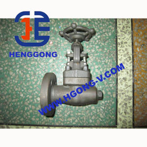 API/ANSI Forged Steel Industrial Flange Gate Valve