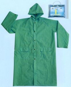 PVC Long Rain Coat CE pictures & photos