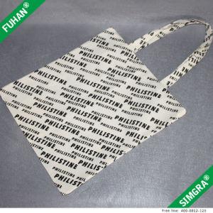 Custom Logo Handle Cotton Tote Bag pictures & photos