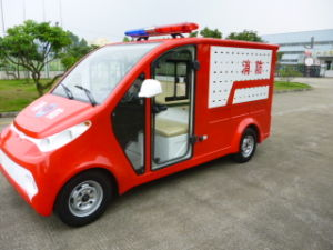 Electric Fire-Fighting Truck, Red, 48V pictures & photos