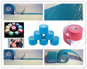 Medical Kinesiology Tape for Muscle Relief pictures & photos