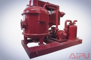 Aipu Solids Control for Mud Cleaning System Vacuum Degasser pictures & photos