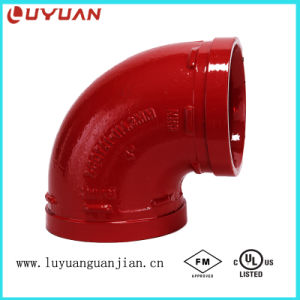 FM UL Ce Ductile Iron Elbow for Construction Engineering pictures & photos