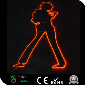 Christmas Decoration LED Motif Rope pictures & photos