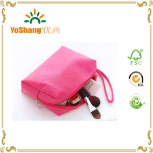 Girl′s Fashion PU Cosmetic Bag for Travel Carrying pictures & photos