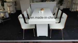 Dubai Market HPL Restaurant White Chair Set (FOH-RCH4) pictures & photos